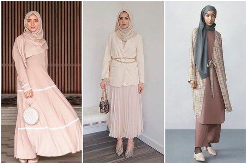 10 OOTD Baju Kondangan Selain Kebaya Dan Batik Untuk Hijaber