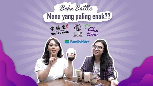 Bukan bermaksud bikin ngidam boba malem-malem, nih. Tapi di Youtube channel Clozette Indonesia ada video baru @puitika dan @nesyaw nge-battle 4 merek boba yang hits banget! 😍😍 Yuk lihat videonya di http://bit.ly/BobaBattle (link di bio) . #ClozetteID #CIDYoutube #BobaBattle #XingFuTang #TigerSugar #FamilyMart #Chatime