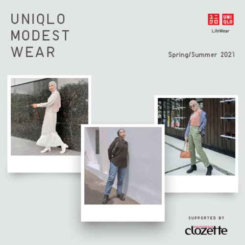 See How Clozetters Mix 'N Match Their Style With UNIQLO Modest Wear!