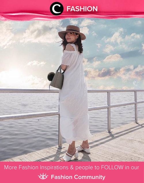 A perfect getaway needs ocean air and breathable clothes. Image shared by Clozette Ambassador @steviiewong. Simak Fashion Update ala clozetters lainnya hari ini di Fashion Community. Yuk, share outfit favorit kamu bersama Clozette.