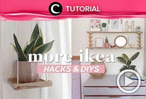Sering belanja di IKEA? Banyak hacks-nya yang bisa kamu coba nih, Clozetters: http://bit.ly/2LfuhZn. Video ini di-share kembali oleh Clozetter @zahirazahra. Lihat juga tutorial lainnya di Tutorial Section.