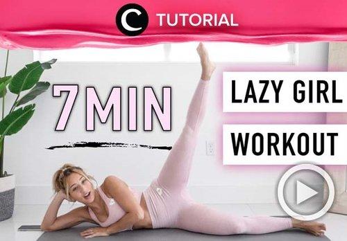 Kaum mager mana suaranya? Kini kamu bisa tetap aktif berolahraga dengan mengikuti tips workout berikut: https://bit.ly/3kCO48g. Video ini di-share kembali oleh Clozetter @juliahadi. Lihat juga tutorial lainnya di Tutorial Section.