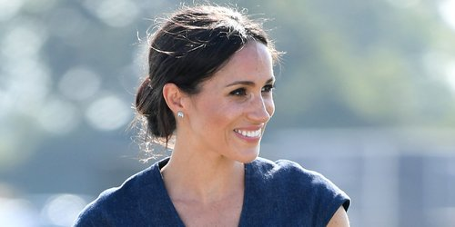 The Hack Meghan Markle and Kate Middleton Use to Keep Their Dresses from Flying Up