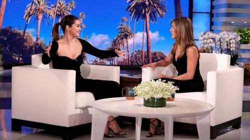 Jennifer Aniston and Selena Gomez Take the Little Black Dress to New Heights
