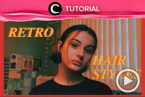 Jangan kehabisan ide untuk men-styling rambut pendekmu. Lihat tutorialnya di: http://bit.ly/2B2WBca. Video ini di-share kembali oleh Clozetter @ranialda. Lihat juga tutorial lainnya di Tutorial Section.
