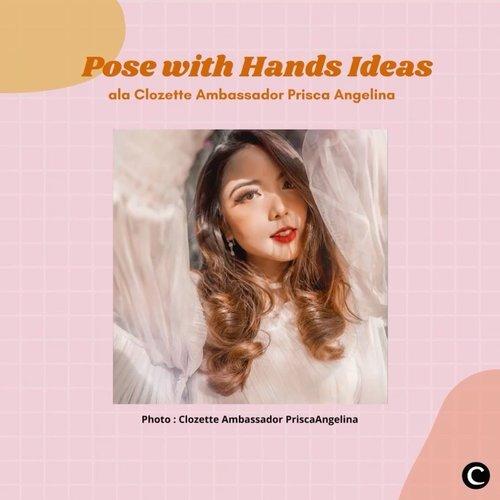 """Clozetters, sebagian dari kamu pasti punya pose andalan saat berfoto. Buat kamu yang kehabisan ide untuk berpose, bisa tiru """"pose with hands"""" ala Clozette Ambassador @priscaangelina. Dengan memainkan tangan, bisa membuat hasil foto kamu jadi makin kece dan menarik. Yuk, lihat videonya.  📷@priscaangelina  #ClozetteID #ClozetteIDVideo #HowtoPose #PosewithHands"""