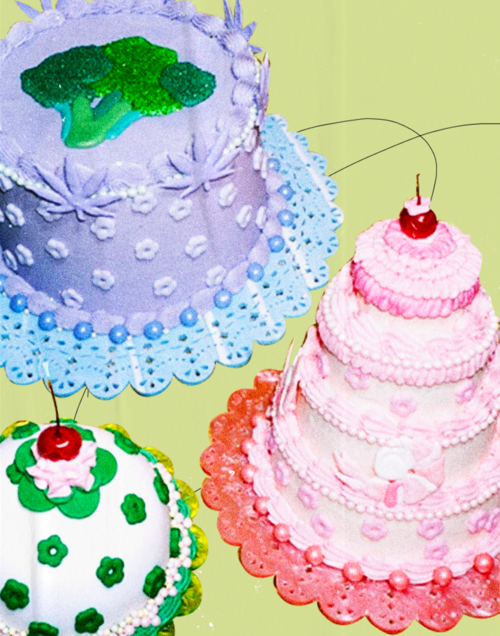 How Retro-Decorated Cakes Crossed Over Into the Instagram Mainstream