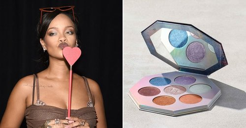 Here's How to Get a Fenty Highlighter Palette Autographed by Rihanna