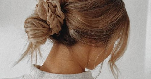 Effortless autumn hairstyles, from low knots to velvet scrunchies