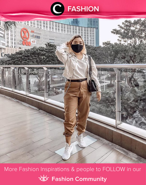 Clozette Ambassador @lidyaagustin01 taking neutral colors to another level of street style and we love it! Simak Fashion Update ala clozetters lainnya hari ini di Fashion Community. Yuk, share outfit favorit kamu bersama Clozette.
