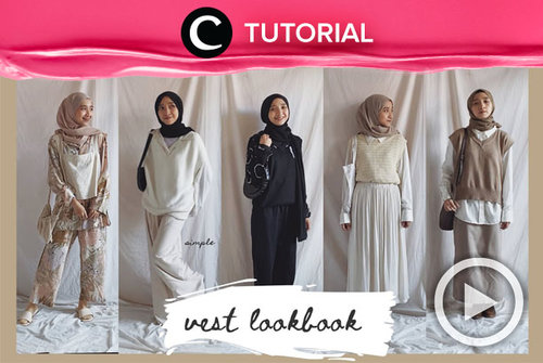 Going modest with vest. Check the outfit inspo here: http://bit.ly/3tz1cwk. Video ini di-share kembali oleh Clozetter @saniaalatas. Lihat juga tutorial lainnya di Tutorial Section.