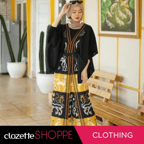 Tenun merupakan salah satu warisan Budaya Indonesia, dengan teknik pembuatan kain yang dibuat dengan prinsip sederhana, yaitu dengan menggabungkan benang secara memanjang dan melintang. . Tenun saat itu sudah menjadi trend fashion di Indonesia hingga mancanegara. Motif tenun yang beragam, unik dan sarat akan makna ini yang membuat pemakai tenun terlihat elegan dan anggun. Di #ClozetteShoppe juga menyediakan beraga model Tenun yang bisa menjadi referensi kalian.Beli sekarang yuk. Mulai 150K!http://bit.ly/2Qeirmc