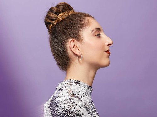 How to Do a Braided Ballerina Bun — the Cool-Girl Way