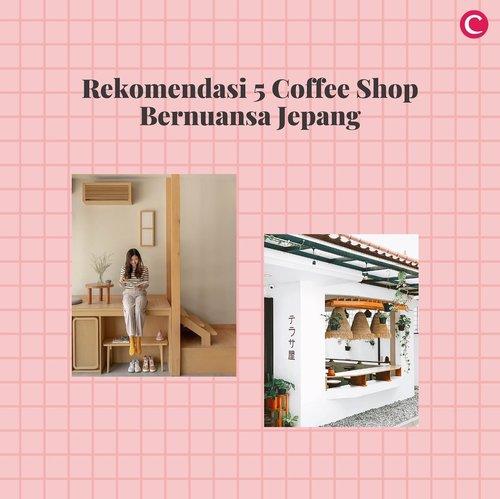 Rindu dengan suasana Jepang namun belum bisa berkunjung ke sana? Kamu bisa coba beberapa coffee shop berikut yang menghadirkan nuansa dan menu makanan ala Jepang. Mana favoritmu?.📷 @cremelin_id @semasa.kopi @katamichi.coffee @vickyyuwono @kus.andi @ejji.id @tantengopi @foodeatology @cnlulaby#ClozetteID #ClozettexCoolJapan #ClozetteIDCoolJapan