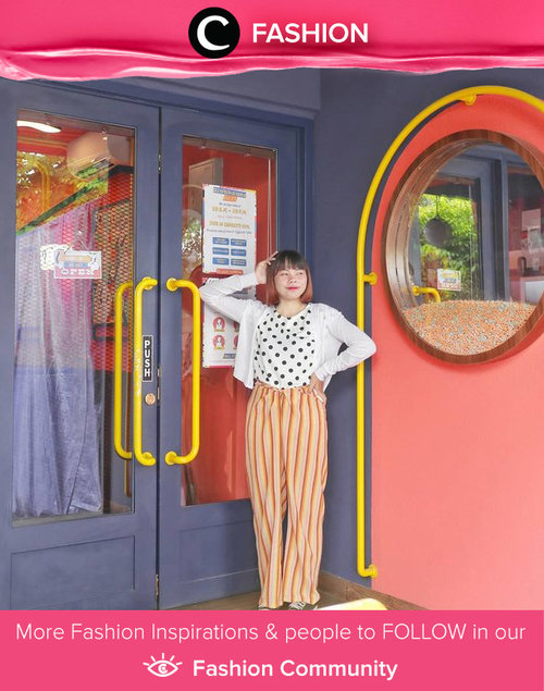 Clozette Ambassador @deemiiaa played with pattern to grab her favorite cereal bowl in Sunday Bowl Cereal Club. Simak Fashion Update ala clozetters lainnya hari ini di Fashion Community. Yuk, share outfit favorit kamu bersama Clozette.