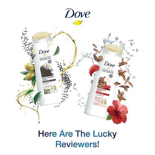 Khusus untuk yang kemarin sudah mencoba dan menClozetteID ulis review Dove Scalp Strength Ritual Shampoo dan Dove Refreshing Ritual Shampoo, kami sudah punya pemenangnya, nih!  Here are the winner..... Selamat kepada: @janejaneveroo  @rifawf  @chelsheaflo  Masing-masing pemenang berhak mendapatkan voucher belanja senilai Rp 500.000. Kirimkan data diri (nama, no telp, alamat lengkap beserta kode pos, nama akun instagram, dan email) kamu melalui DM paling lambat tanggal 08 Juli 2019. #ClozetteID