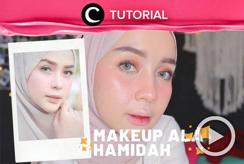 Ingin meniru makeup selebgram Hamidah? Cek tutorialnya di: http://bit.ly/39QFYRC. Video ini di-share kembali oleh Clozetter @salsawibowo. Lihat juga tutorial lainnya di Tutorial Section.