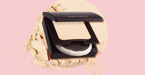 Laura Mercier's Translucent Pressed Setting Powder is like a real-life smoothing filter for my face
