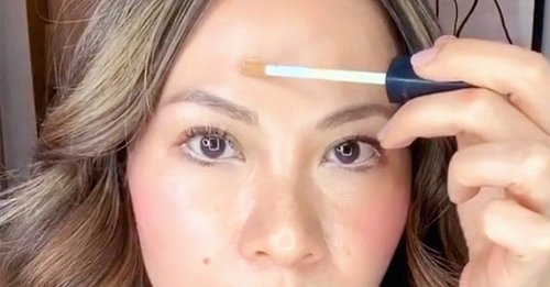 Makeup artist Nam Vo shared a mind-blowing trick for concealing a zit