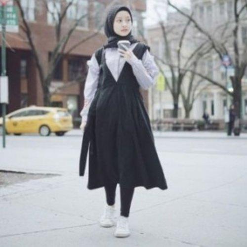 4 Mix and Match Legging Untuk Kamu Para Hijaber