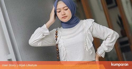 7 Outfit Hijab dengan Celana Jeans ala Selebgram Saritiw