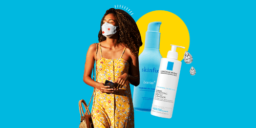 Um, This 30-Second Trick Legit Cleared Up My Mask Acne