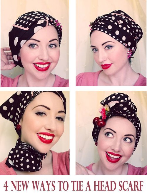 Ideas on How To Wear Headscarf - HijabiWorld