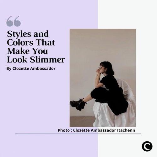 Memiliki tubuh langsing menjadi salah satu hal yang diinginkan setiap wanita. Tapi, jangan sampai membuat kamu menjadi insecure ya, Clozetters! Tetap berpikir positif dan lakukan hal yang membuat kamu bahagia. Ada tips untuk membuat look kamu terlihat lebih slim dari Clozette Ambassador, nih! Yuk, simak videonya✨  📷@itachenn @vicisienna @tiffanikosh @priscaangelina @steviiewong  #ClozetteID @ClozetteIDVideo