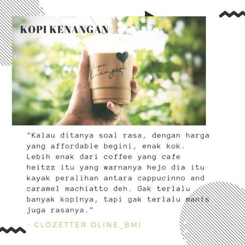 It's coffee o'clock! Sore ini enaknya pesan kopi apa ya? Gimana kalau coba rekomendasi dari Clozetters berikut ini.#clozetteid