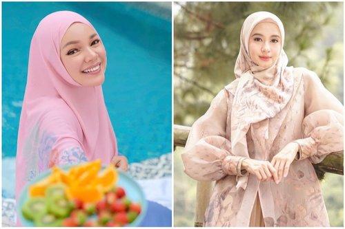 10 Ide Styling Hijab dan Memilih Bahan Yang Pas Untuk Wajah Cerah