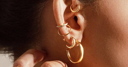 Our edit of the chicest, most timeless gold hoop earrings that will always make a statement