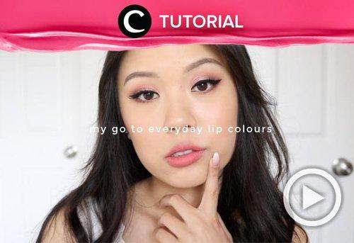 Masih bingung warna lipstik apa yang cocok dengan penampilanmu sehari-hari? Yuk, lihat tipsnya di: http://bit.ly/2J3FfRy. Video ini di-share kembali oleh Clozetter @dintjess. Lihat juga tutorial lainnya di Tutorial Section.