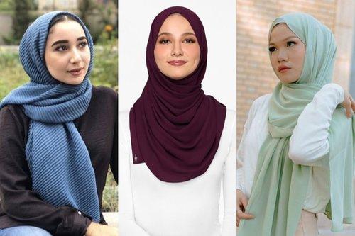5 Warna Hijab Selain Hitam yang Bikin Wajah Cerah