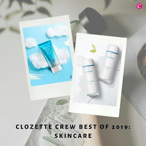Setelah beberapa hari lalu Clozette beri bocoran tentang make up favorit Clozette Crew tahun 2019, sekarang Clozette sudah merangkum produk skincare terbaik sepanjang tahun 2019 menurut Clozette Crew, nih. Ada produk favorit kamu juga nggak di atas?✨ #ClozetteID #ClozetteIDCoolJapan #ClozetteXCoolJapan.📷 @naruko.indonesia @stivesindonesia @laneigeid @drjart_id @id.biore @simpleskincareid
