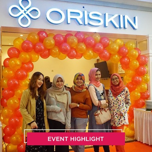 Earlier today we're attending the grand opening of Oriskin Bintaro. Congratulations @oriskin_id for the 30th store✨ #ClozetteID