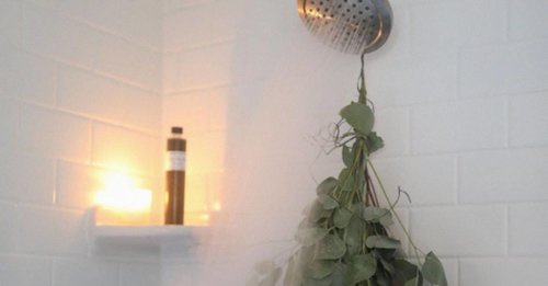 An aromatherapy shower can take your hair wash to a whole other level