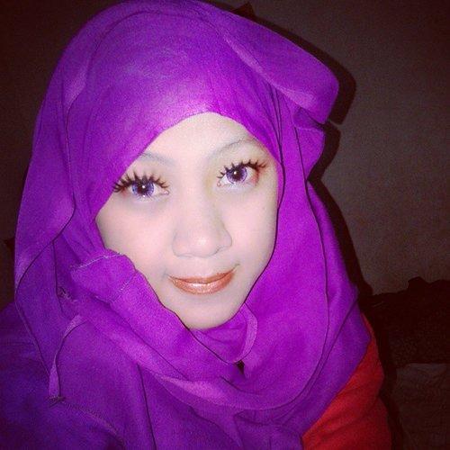 My hijab style #mymakeup #ClozetteID
