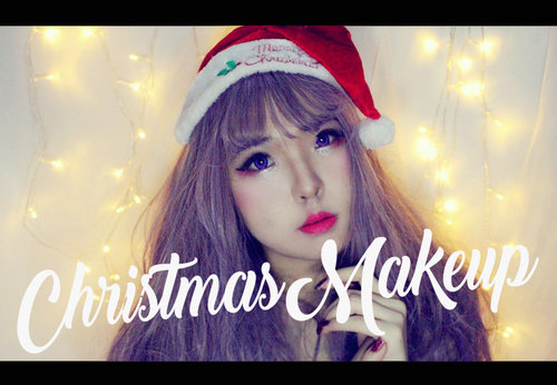 CHRISTMAS MAKEUP For full video : https://www.youtube.com/watch?v=ngAoMyCj0Mo&t=273s