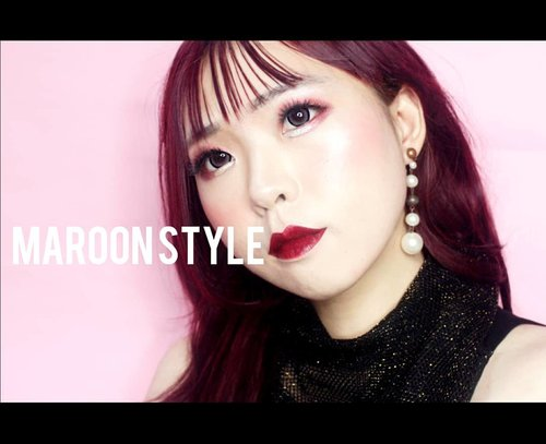 """<div class=""""photoCaption""""> <a class=""""pink-url"""" target=""""_blank"""" href=""""http://m.clozette.co.id/search/query?term=nowfilming&siteseach=Submit"""">#nowfilming</a> my Maroon Style Makeup Look for Spring 2019 💋<br /> I promised myself : Be more beautiful tomorrow than today! See ya!<br /> .<br /> .<br /> .<br /> .<br /> .<br /> .<br /> .<br /> .<br /> .<br /> . .<br /> .<br />  <a class=""""pink-url"""" target=""""_blank"""" href=""""http://m.clozette.co.id/search/query?term=BeautyBlogger&siteseach=Submit"""">#BeautyBlogger</a>  <a class=""""pink-url"""" target=""""_blank"""" href=""""http://m.clozette.co.id/search/query?term=Blogger&siteseach=Submit"""">#Blogger</a>  <a class=""""pink-url"""" target=""""_blank"""" href=""""http://m.clozette.co.id/search/query?term=ART&siteseach=Submit"""">#ART</a>  <a class=""""pink-url"""" target=""""_blank"""" href=""""http://m.clozette.co.id/search/query?term=ARTist&siteseach=Submit"""">#ARTist</a>  <a class=""""pink-url"""" target=""""_blank"""" href=""""http://m.clozette.co.id/search/query?term=Beauty&siteseach=Submit"""">#Beauty</a> <a class=""""pink-url"""" target=""""_blank"""" href=""""http://m.clozette.co.id/search/query?term=beautystagram&siteseach=Submit"""">#beautystagram</a> #モデル #メイク #ヘアアレンジ #オシャレ #メイク <a class=""""pink-url"""" target=""""_blank"""" href=""""http://m.clozette.co.id/search/query?term=instaphoto&siteseach=Submit"""">#instaphoto</a> <a class=""""pink-url"""" target=""""_blank"""" href=""""http://m.clozette.co.id/search/query?term=makeup&siteseach=Submit"""">#makeup</a>  <a class=""""pink-url"""" target=""""_blank"""" href=""""http://m.clozette.co.id/search/query?term=lady&siteseach=Submit"""">#lady</a> <a class=""""pink-url"""" target=""""_blank"""" href=""""http://m.clozette.co.id/search/query?term=instagram&siteseach=Submit"""">#instagram</a> <a class=""""pink-url"""" target=""""_blank"""" href=""""http://m.clozette.co.id/search/query?term=style&siteseach=Submit"""">#style</a> <a class=""""pink-url"""" target=""""_blank"""" href=""""http://m.clozette.co.id/search/query?term=girl&siteseach=Submit"""">#girl</a> <a class=""""pink-url"""" target=""""_blank"""" href=""""http://m.clozette.co.id/search/query?term=beauty&siteseach=Submit"""">#beau"""