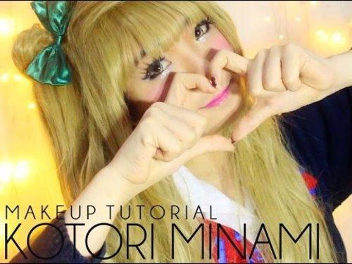 Kotori Minami Makeup Tutorial - YouTube