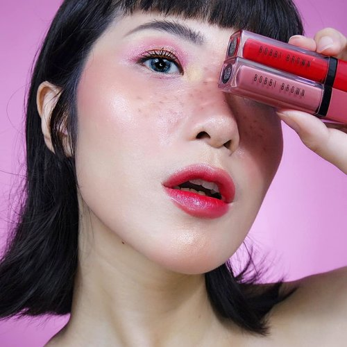 """<div class=""""photoCaption"""">Using my lip gradation combo, the new Crushed Liquid Lip from @bobbibrownid in shade Big Apple & Juicy Date (available in 14 shades). 👄💄✨.The formula is a mixture of liquid lip + balm, so it's very pigmented in color yet feels moisturizing. It's also doesn't feel heavy on the lips. Since this product gives a glossy finish, it naturally makes my lips look plumper..Also infused with superfruit extracts including Cranberries & Blueberries that helps to revitalize & nourish our lips while using the product..We can using this as blush or liquid eyeshadow as well because it has buildable coverage & very blendable. What a versatile product 💕. <a class=""""pink-url"""" target=""""_blank"""" href=""""http://m.clozette.co.id/search/query?term=BobbiBrownID&siteseach=Submit"""">#BobbiBrownID</a> <a class=""""pink-url"""" target=""""_blank"""" href=""""http://m.clozette.co.id/search/query?term=BBGirlCrush..........&siteseach=Submit"""">#BBGirlCrush..........</a> <a class=""""pink-url"""" target=""""_blank"""" href=""""http://m.clozette.co.id/search/query?term=ivgbeauty&siteseach=Submit"""">#ivgbeauty</a>  <a class=""""pink-url"""" target=""""_blank"""" href=""""http://m.clozette.co.id/search/query?term=indobeautygram&siteseach=Submit"""">#indobeautygram</a>  <a class=""""pink-url"""" target=""""_blank"""" href=""""http://m.clozette.co.id/search/query?term=makeuptutorial&siteseach=Submit"""">#makeuptutorial</a>  <a class=""""pink-url"""" target=""""_blank"""" href=""""http://m.clozette.co.id/search/query?term=wakeupandmakeup&siteseach=Submit"""">#wakeupandmakeup</a>  <a class=""""pink-url"""" target=""""_blank"""" href=""""http://m.clozette.co.id/search/query?term=undiscovered_muas&siteseach=Submit"""">#undiscovered_muas</a>  @tampilcantik  <a class=""""pink-url"""" target=""""_blank"""" href=""""http://m.clozette.co.id/search/query?term=tampilcantik&siteseach=Submit"""">#tampilcantik</a>  <a class=""""pink-url"""" target=""""_blank"""" href=""""http://m.clozette.co.id/search/query?term=ClozetteID&siteseach=Submit"""">#ClozetteID</a>  <a class=""""pink-url"""" target=""""_blank"""" href=""""http://m.clozette.co.id/search/query?"""