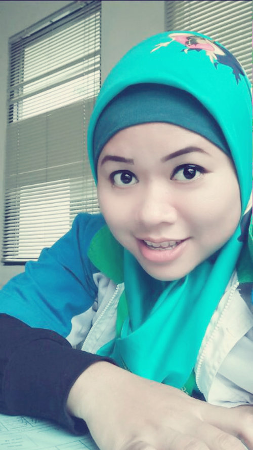 Wednesday #office#blue#morning#maherzein#elzattahijab