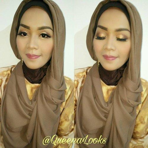 #mywork #makeuplovers #makeupbeauty #beautybyme #makeupforher #hijabindo #jasamakeup #natural #makeupnomakeup #makeupzone #talkthatmakeup #brian_champagne #universodamaquiagem_oficial #lookamillion #queenalooks #indonesia #muahits #clozetteid #makeuphijab