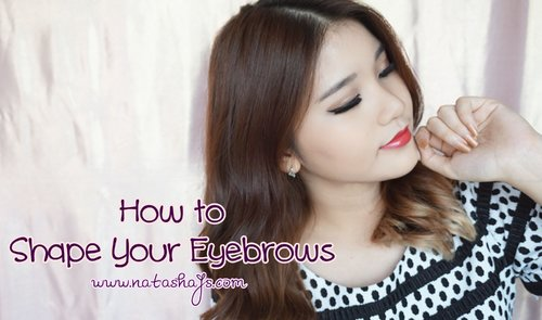 [Violet Brush] How to Shape Your Eyebrows - YouTube
