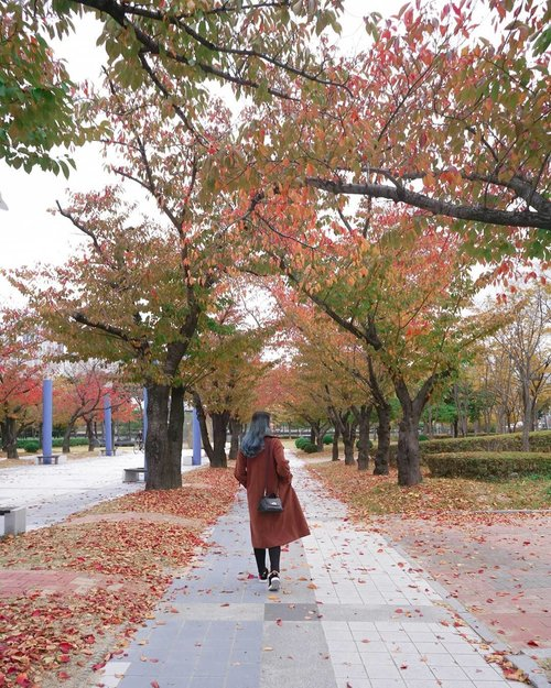 Why hold on to the negativity when letting go could be this beautiful? 🍁🍂..#NatashaJSOOTD ..........#fashioninspo #styleinspo #styleblogger #clozetteid #ggrep #가을 #부산 #패션스타그램