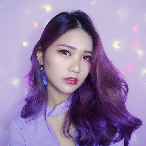 As seen on my profile picture. Finally showing my #purple hair properly 💜 Anyway here's the deets to this makeup look, tutorial on the previous post! 💄 @laqlanc_cosmetic Perfect LED Pearl Base 💄 @innisfreeofficial @innisfreeindonesia Smart Drawing Color Correcting in no. 01 ; No-Sebum Moisture Powder ; Auto Eyebrow in no. 04 & 07 💄 @luna_cosmetic_kr Long Lasting Tip Concealer in no. 02 💄 @apieu_cosmetics x Rilakkuma Air- Fit Cushion Blusher in CR02 ; Honey Serum Tint in RD02 💄 @toofaced Sweet Peach 💄 @itsdemo_official x Leanani Waterproof Liquid Liner in black 💄 @espoir_makeup Ultimate Feather Volume Mascara Waterproof in Russian Black 💄 @aritaum_official Idol Lash in Basic no. 3 💄 @b.bybanila_official Contour Duo . . #NatashaJSmakeup #NatashaJShairupdates . . . . . . . . . . . #clozetteid #slave2beauty #makeup #purplehair #unicorn #onfleek #wakeupandmakeup #ggrep #likes #bloggerbabes #kbbvmember #beautyblogger #셀스타그램 #메이크업 #뷰티블로거