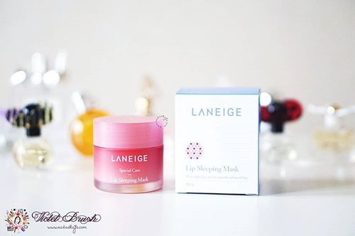 Having dry lips even with application of lip balm is kinda frustrating. This is why I was kinda skeptical to try this product at first. But Laneige's Lip Sleeping Mask surprised me in a good way. Read the full review on #NatashaJSdotcom or click the link on my bio ^^..#NatashaJS #NatashaJSreview #VioletBrush #NatashaJSBeautyBook #clozetteid #laneige
