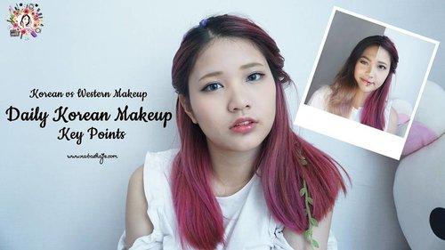 Don't forget to watch my new video on #youtube to know what are the key points to the signature Korean makeup! . . #NatashaJS #NatashaJSonYouTube #NatashaJStutorial #NatashaJSmakeup  #VioletBrushxBlackxugar #VioletBrush #clozetteid