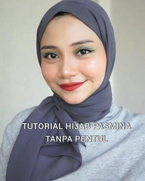 "Pagi"" mau kasih tutorial hijab 😊😊 Kalian suka style yang mana nih ??..Pasmina ikat kayak gini banyak banget dijual dishopee dengan harga yang bervariasi beb, harganya aku beli cuman 23.000 , selain praktis tinggal ikat, juga buat ibuk ibuk yang menggendong anak gak perlu takut anaknya ke gores pentul !!..semoga suka videonya , jangan lupa like, save dan share yah, thankyou 💞.#tutorialhijabsimple #hijabtanpapentul #icecreamchallenge #tutorialmakeupnatural #beautyblogger @cchannel_id @indobeautygram @cerita.cantik #beautybloggerindonesia #beautybloggers #makeupchallenge #makeuptutorialindonesia #tipsmakeup #makeuppemula #beginnermakeup #icecreamchallenge #uswahmakeuptutorial #beautycontentcreatormakassar #instagram #makeuplooks #eyelashes #clozetteid"