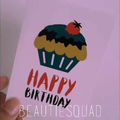 @Regranned from @beautiesquad -  Happy Birthday Beautiesquad💕💕 Let's celebrate today together ♥️ - #regrann  #clozetteid